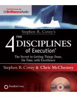 4 Disciplines of Execution Audio CD (Abridged)