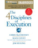 4 Disciplines of Execution Audio CD (Unabridged)