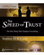 Speed of Trust Audio (Unabridged)