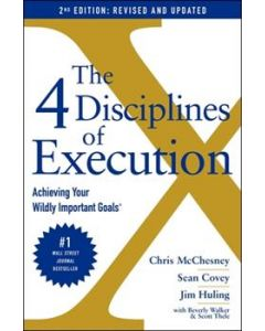 4 Disciplines of Execution Hard Cover Book