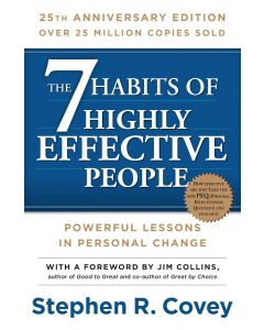 7 Habits 25th Anniversary Edition Paperback Book