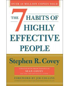 7 Habits 30th Anniversary Paperback Book