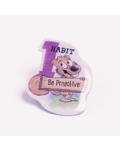 Lapel Pin — Habit 1: Be Proactive