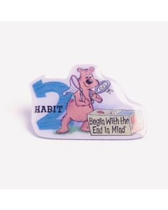 Lapel Pin — Habit 2: Begin with the End in Mind