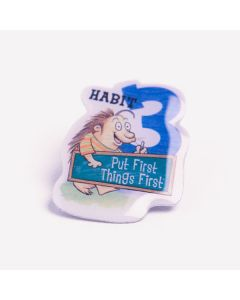 Lapel Pin — Habit 3: Put First Things First