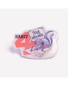 Lapel Pin — Habit 4: Think Win Win