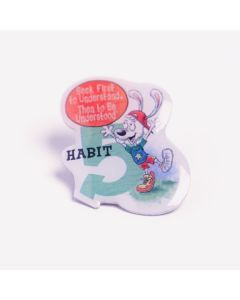 Lapel Pin — Habit 5: Seek First to Understand, Then to Be Understood