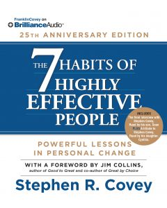 7 Habits 25th Anniversary Audio (Abridged & Unabridged in Set)