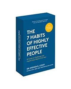 The 7 Habits of Highly Effective People: 30th Anniversary Card Deck (The Official 7 Habits Card Deck) Pocket Book