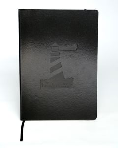 TLIM Lighthouse Notebook Black