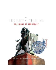 Nobility of Policing Paperback Book