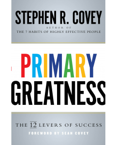 Primary Greatness Hard Cover Book