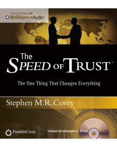 Speed of Trust Audio (Unabridged)